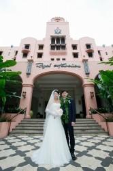 H.I.S. 長岡営業所 ハワイ挙式 ロイヤルハワイアンホテル 「ピンクパレス」