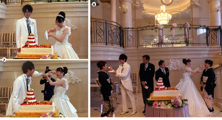結婚式,結婚,新潟,新潟ビップ,披露宴,ウェディングケーキ